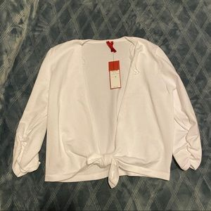 Love Scarlett White Cardigan Sweater